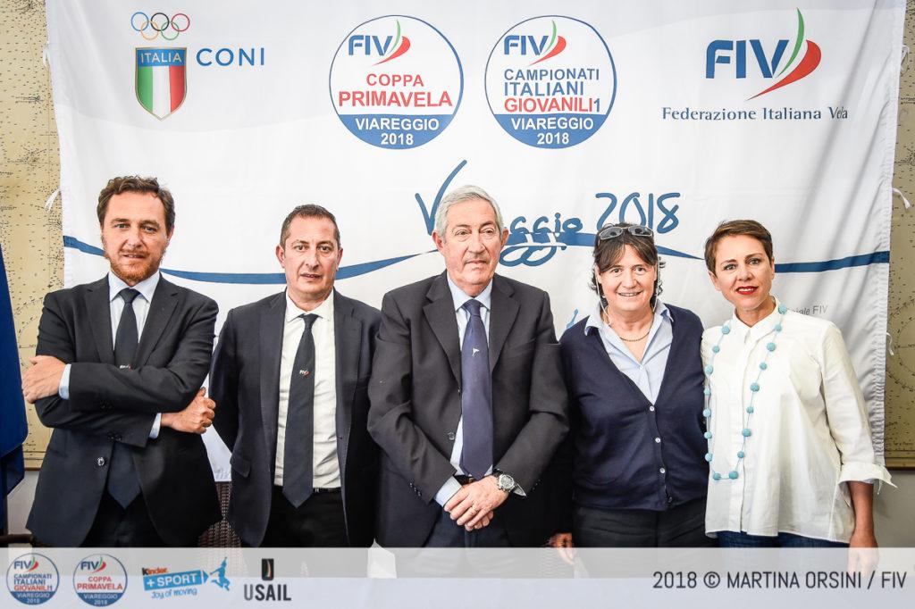 COPPA PRIMAVELA E CAMPIONATI ITALIANI GIOVANILI IN SINGOLO 2018 Presentati oggi a Viareggio