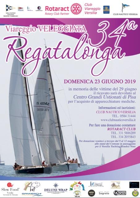 34° Regatalonga - veleggiata, 23 giugno  Viareggio