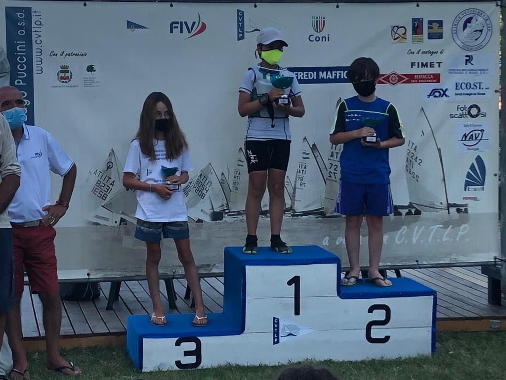 Classifica finale Cadetti VI Trofeo Astorri - I Selezione zonale U16 Meeting U11