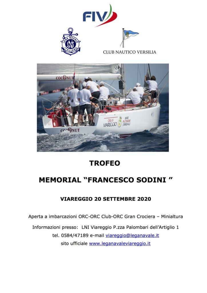 Trofeo Memorial Francesco Sodini 20 Settembre 2020